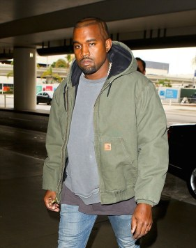 Kanye-West-wears-Carhartt-Active-Jack-Quilted-Flannel-Lined-Hoodie-Jacket-at-LAX